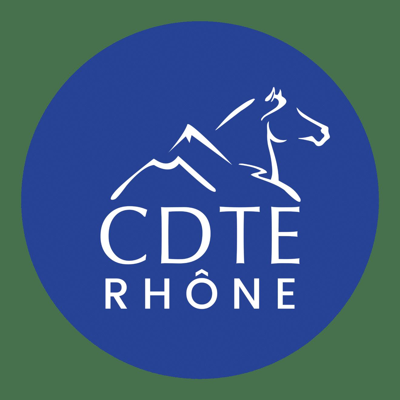 Logo Tourisme equestre Rhone