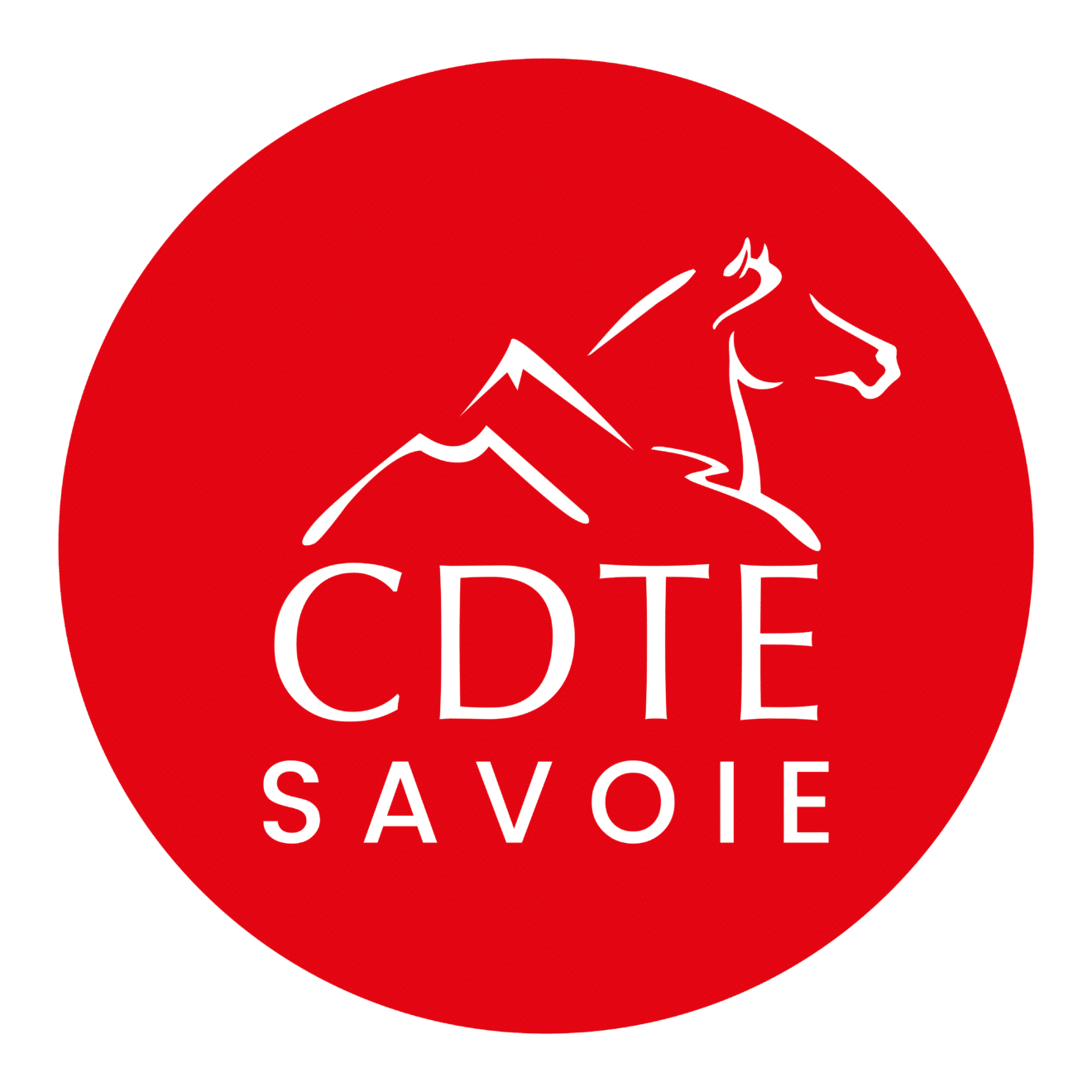 Logo Tourisme equestre Savoie
