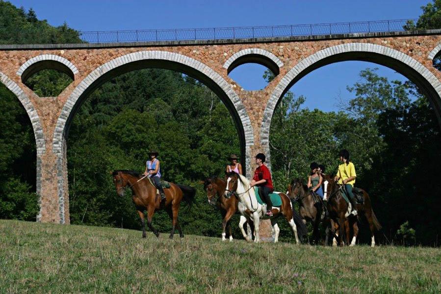 A cheval Loire Cornes d'Urfé carte gpx