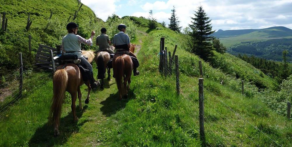 Boucle Dore St Bonnet le chastel Baffie cheval