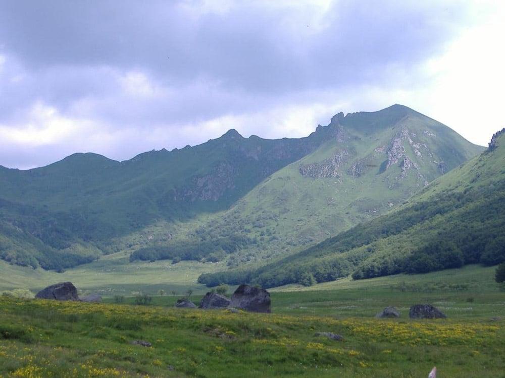 Cheval randonnée Domes Sancy Le Mont Dore Baffaud itinéraire