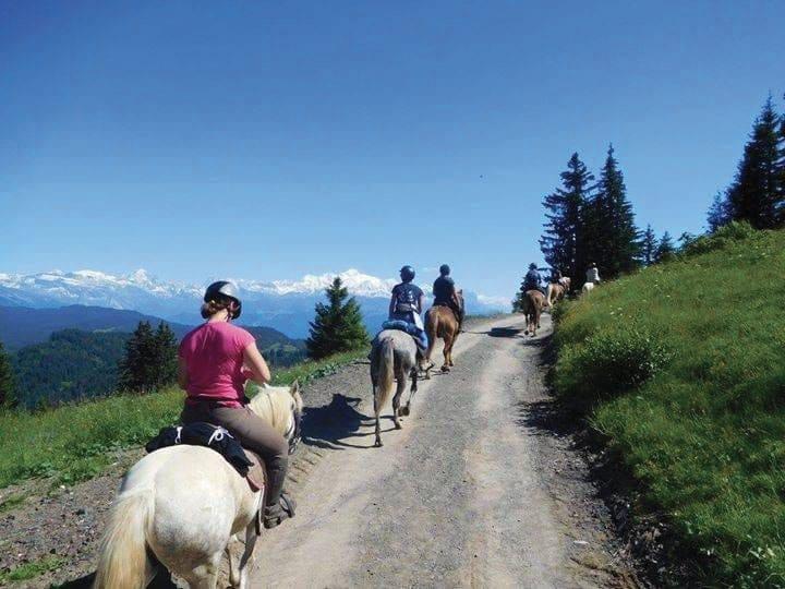 Circuit à cheval Balcons des Grands Prés Haute-Savoie