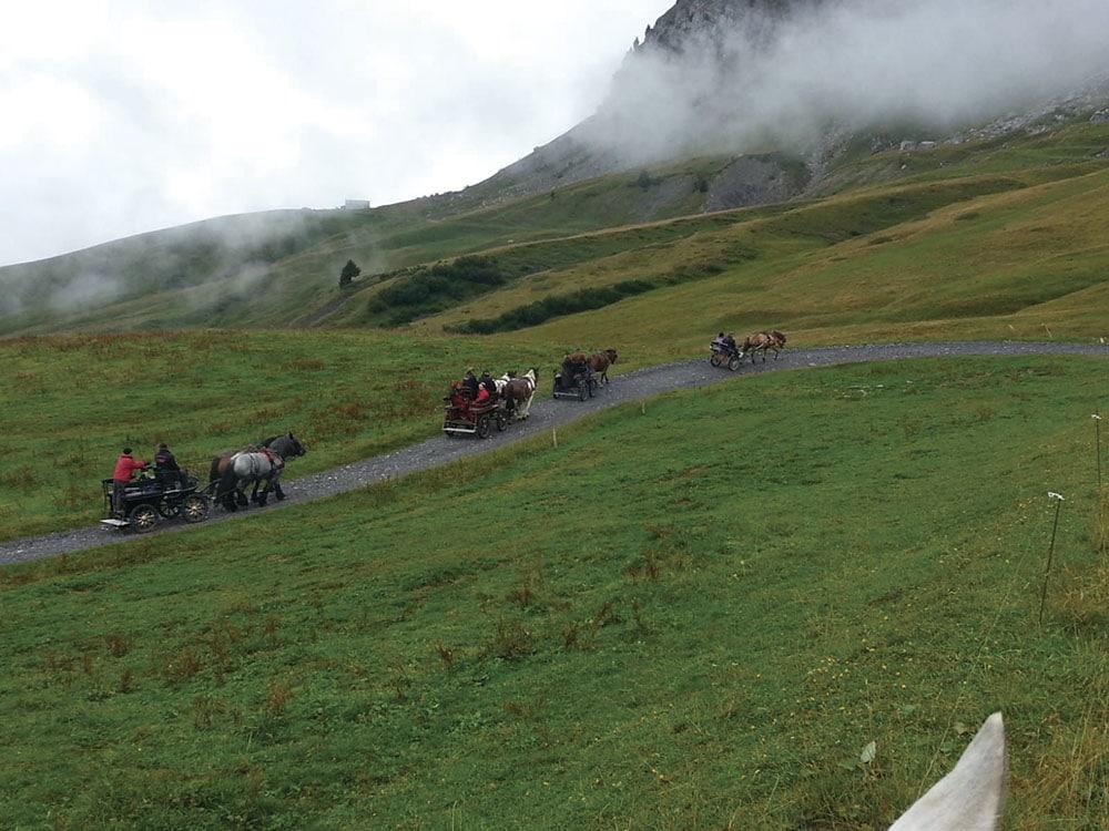 Itinéraire à cheval entre Usses et Vuache Haute Savoie