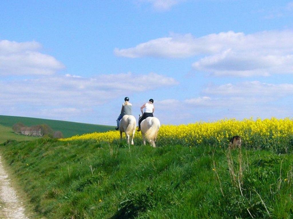 Les Pierres d'Antan Randonnée à cheval