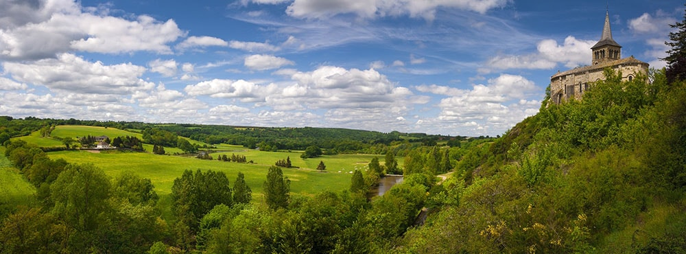 Paysage Allier Cheval Auvergne Rhone Alpes