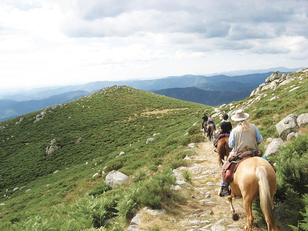 Randonnée à cheval Puy de dome Boucle Dore