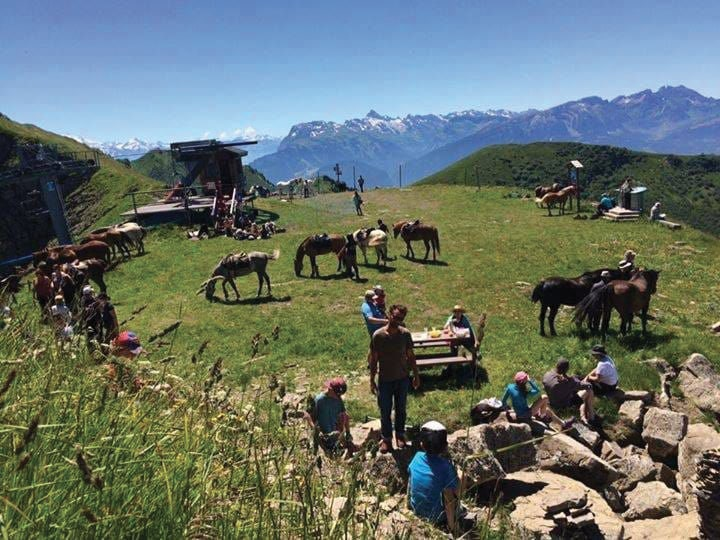Tracé GPX cheval Le Balcon des Alpes Haute-Savoie