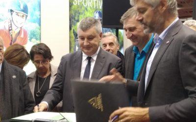 Signature du Plan Ambition Cheval sur Equita Lyon 2019