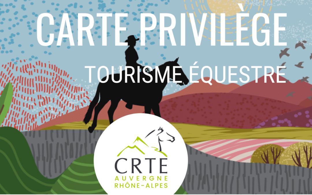 Une Carte Privilège Spéciale Tourisme Équestre !