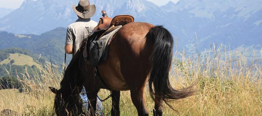 Circuit les Bauges randonnee cheval Savoie