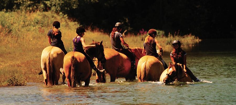 Combe de Savoie circuit de randonnee a cheval