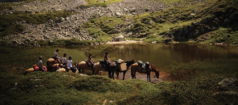 Avant Pays Savoyard randonnée à cheval Savoie