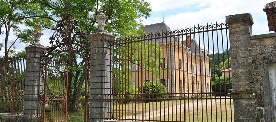 Château de Gros Bois randonnee cheval Rhone