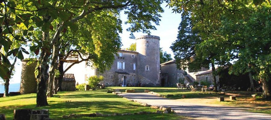 Château du Liviers randonnee cheval Ardeche