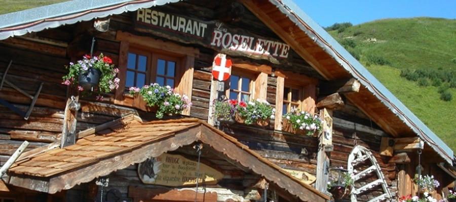 Chalet Refuge la Roselette randonnee cheval Savoie