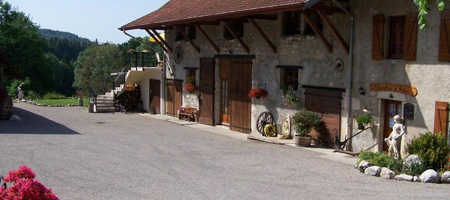 Chambre d'hôtes Les Grands Champs randonnee cheval