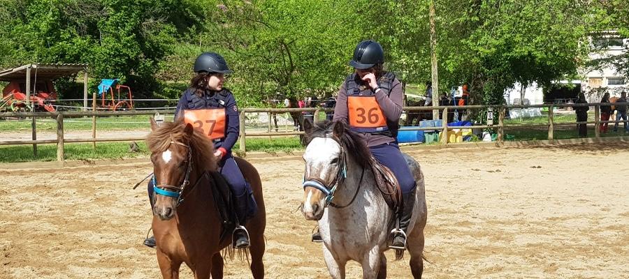 Ferme équestre Le Foussac randonnee cheval Ardeche