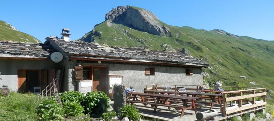 Gîte Refuge Plan Mya randonnee cheval Savoie