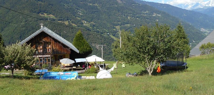 Gite Auberge de Molliessoulaz randonnee cheval Savoie