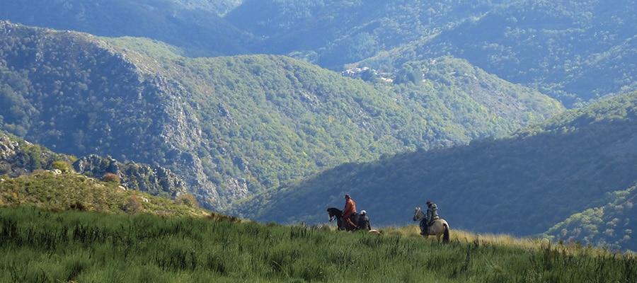 La Montagne Ardéchoise circuit a cheval Ardeche