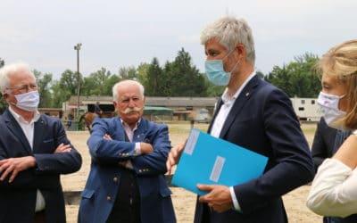 La Région Auvergne Rhône-Alpes soutient les centres équestre