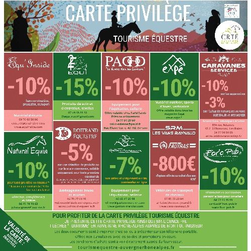 Carte Privilege CRTE