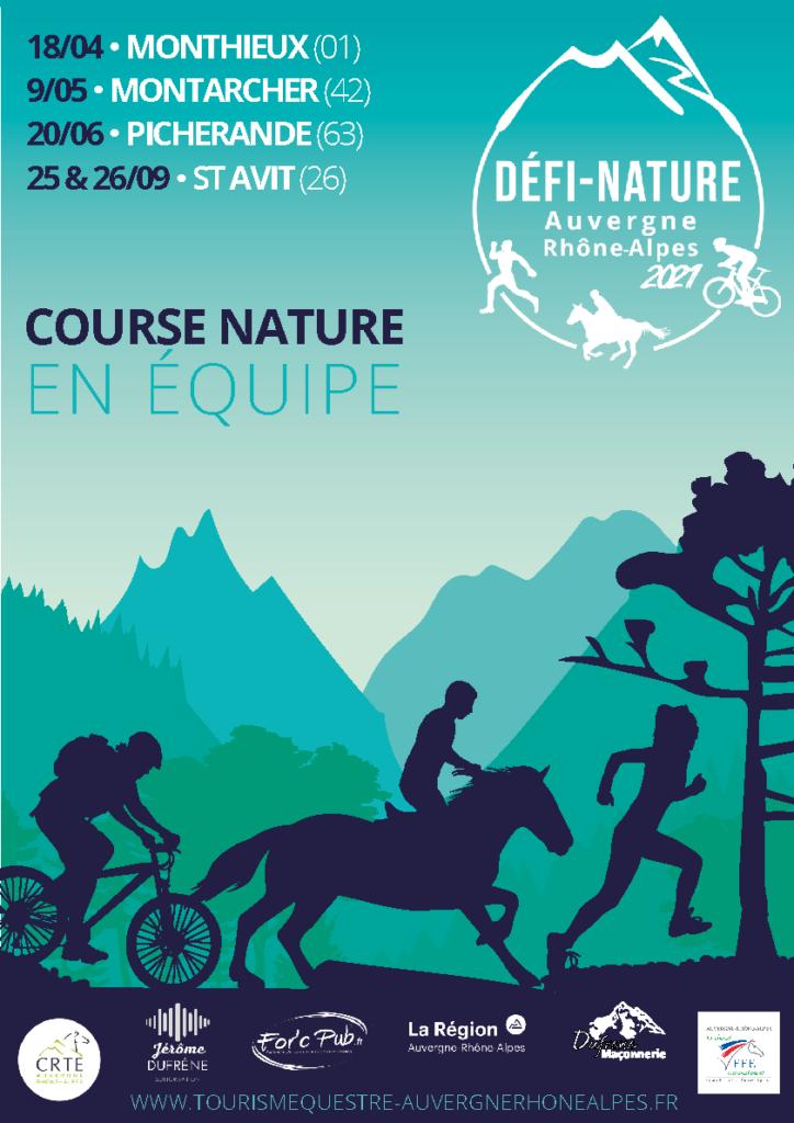 Défi Nature 2021 : Nouveau calendrier !   CRTE Auvergne Rhône Alpes