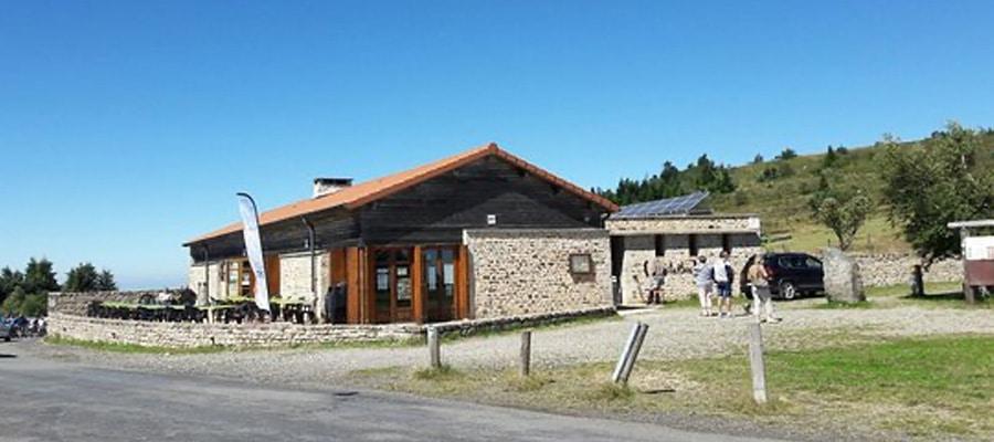 Auberge du col du Béal Boucle Dore Puy de dome cheval