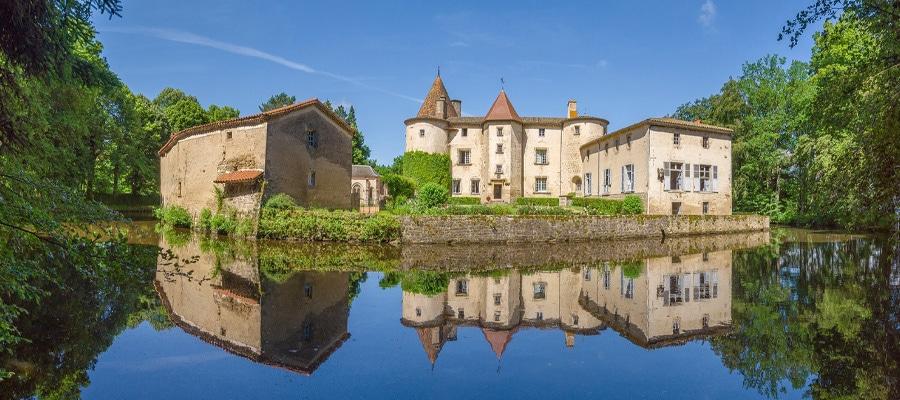 Château des Martinanches Boucle Dore puy de dome cheval