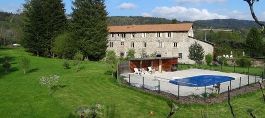 Le Moulin de Pacros Boucle Dore Puy de dome
