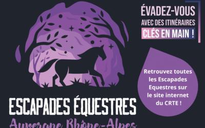 Lancement des Escapades Equestres Auvergne Rhône-Alpes
