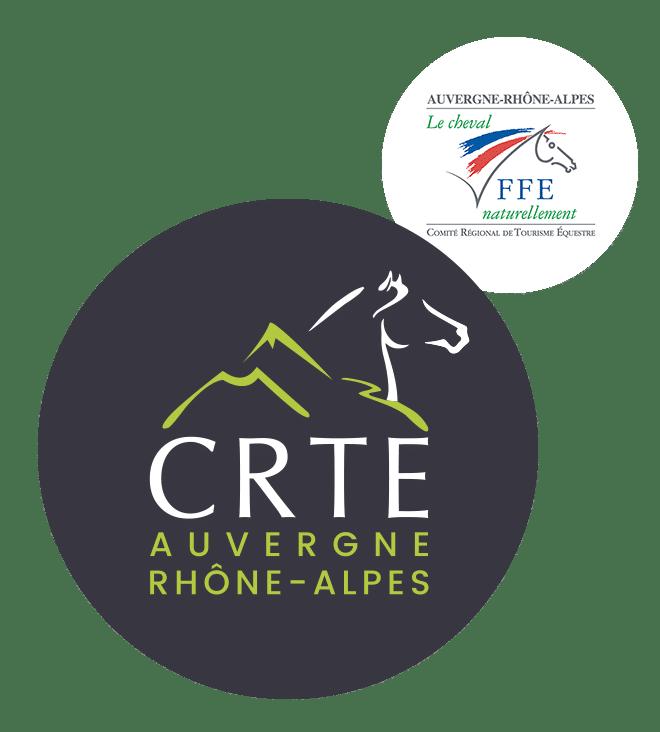 Logo CRTE Tourisme équestre